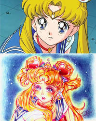 sailor moon reddraw challenge