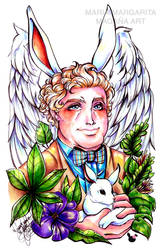 Aziraphale the rabbit
