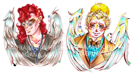 Demon and his angel