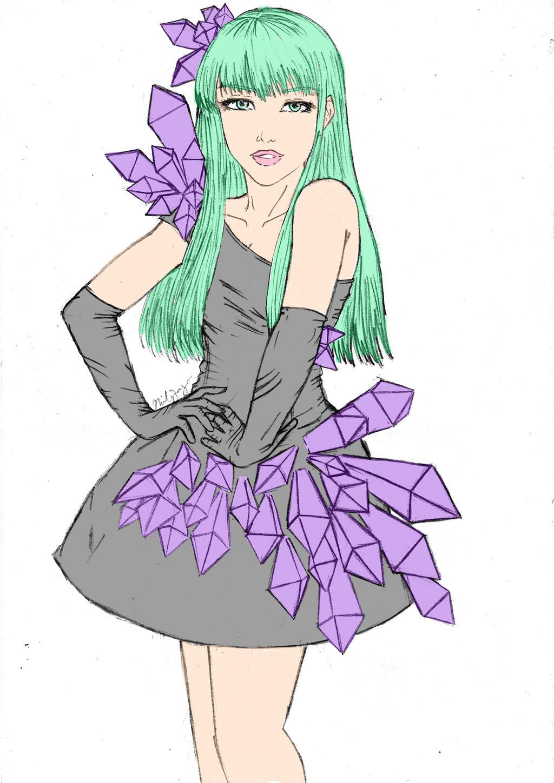 Morrigan as Lady Gaga by pokopoko14