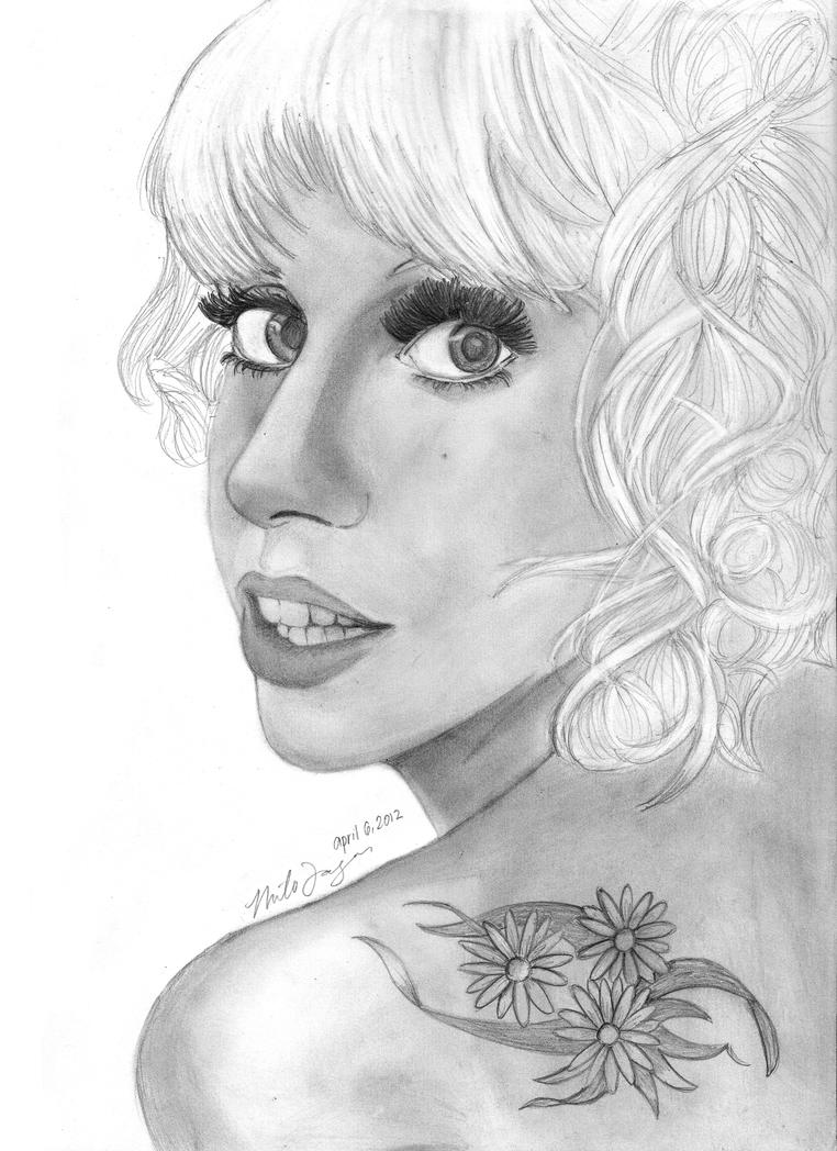 Lady Gaga 2012 by pokopoko14
