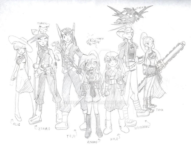 Star Ronin: Team by NecroCC