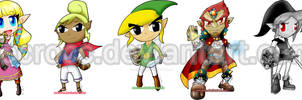 stickers de zelda