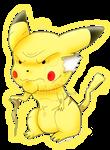pikachu viejo by NecroCC