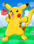 Poster: Pikachu Pokerecreo