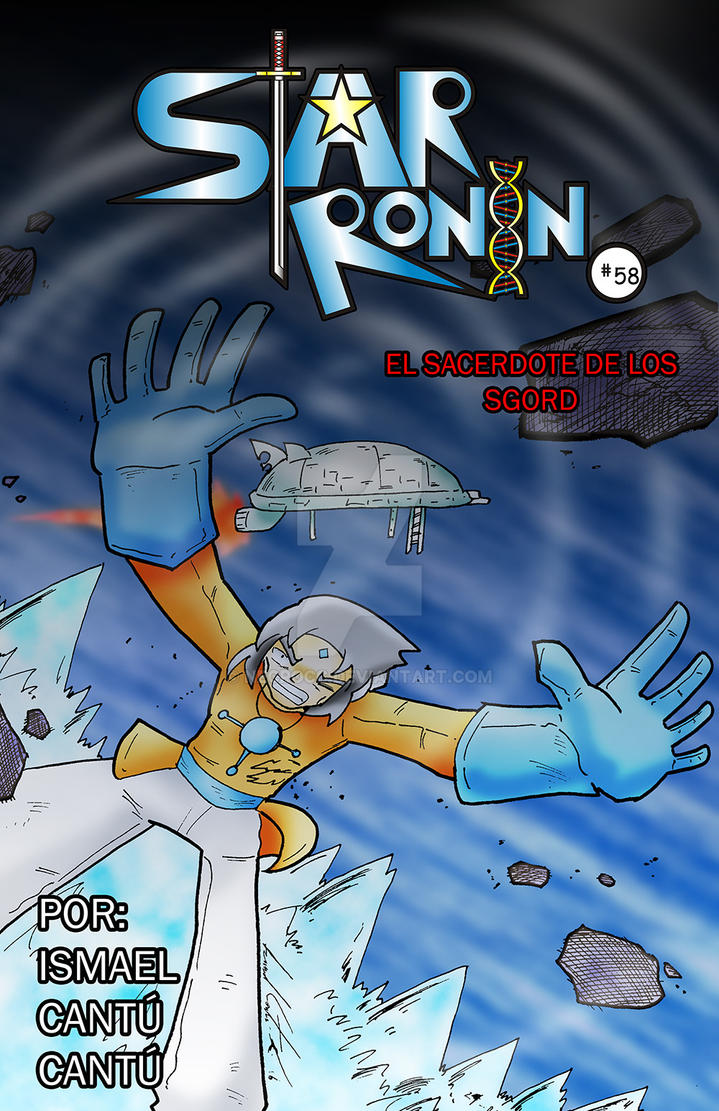 Star Ronin: portada58 by NecroCC