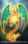 Poster: Pokemon Charizard
