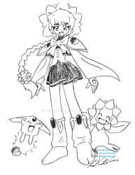 Comision: Hikaru sunflora