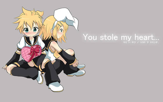 You Stole My heart...