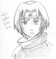 Sasuke Rough - Naruto by Spike-Nifer