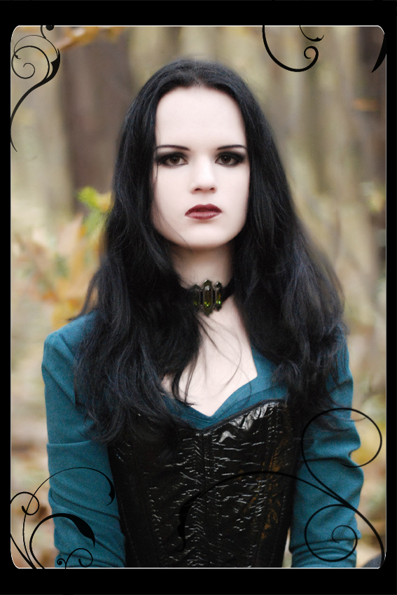 Goth chick photo 22