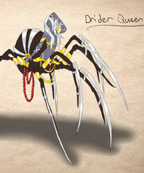 Drider Queen by aLittleGlowstick