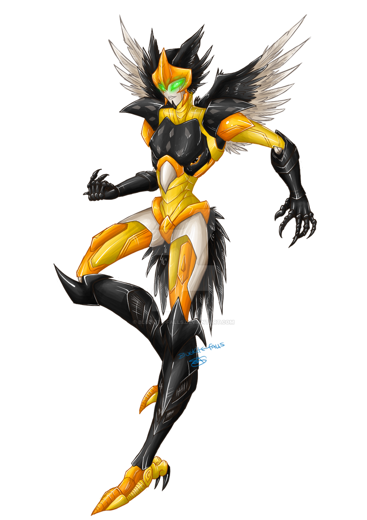 Beast Wars - Airazor by Bluekite-Falls