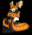 Oranje Naga Chibi