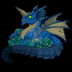 Lil Blue Dragon