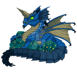 Lil Blue Dragon