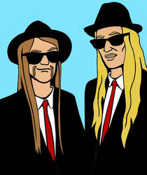 Blues Brothers of Deception by zsomeone