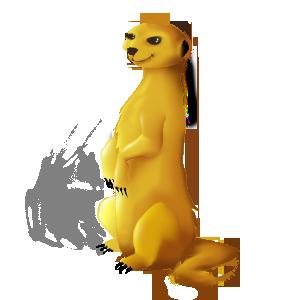 Suricate mascot by shizm