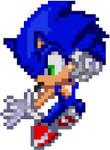 Custom Sonic Genesis Sprite