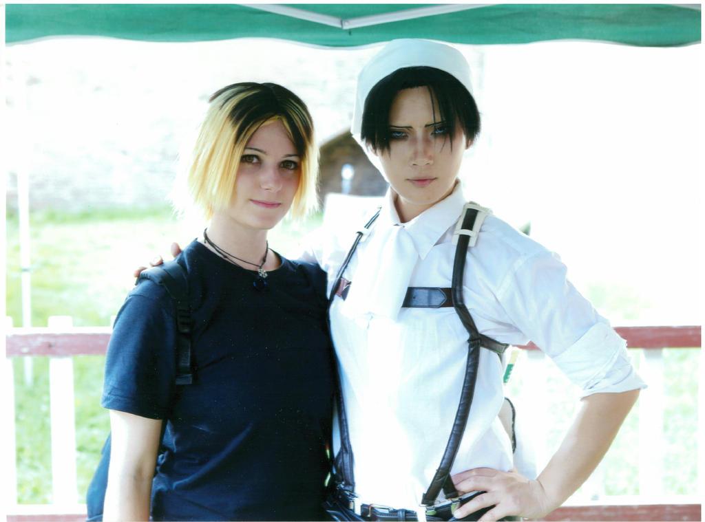 Me and Reika *W* by Kuroko11