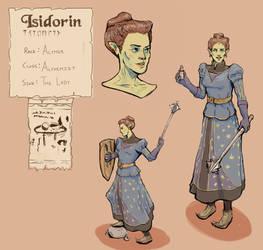 Isidorin - Character Sheet