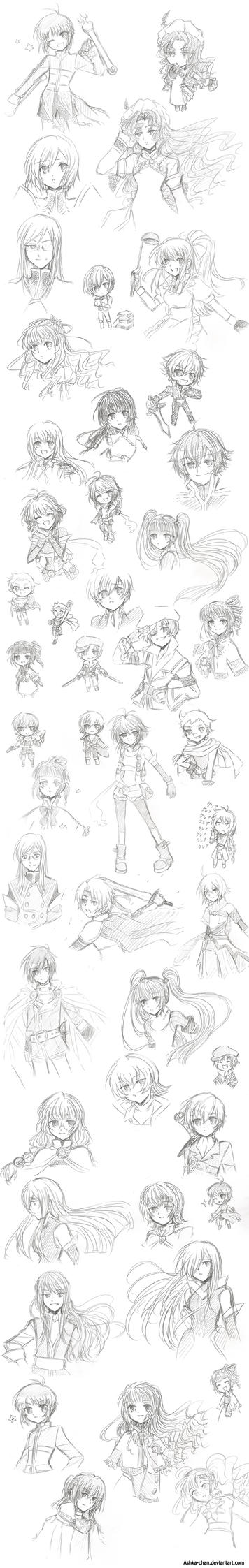 Tales of Sketches by Ashka-chan