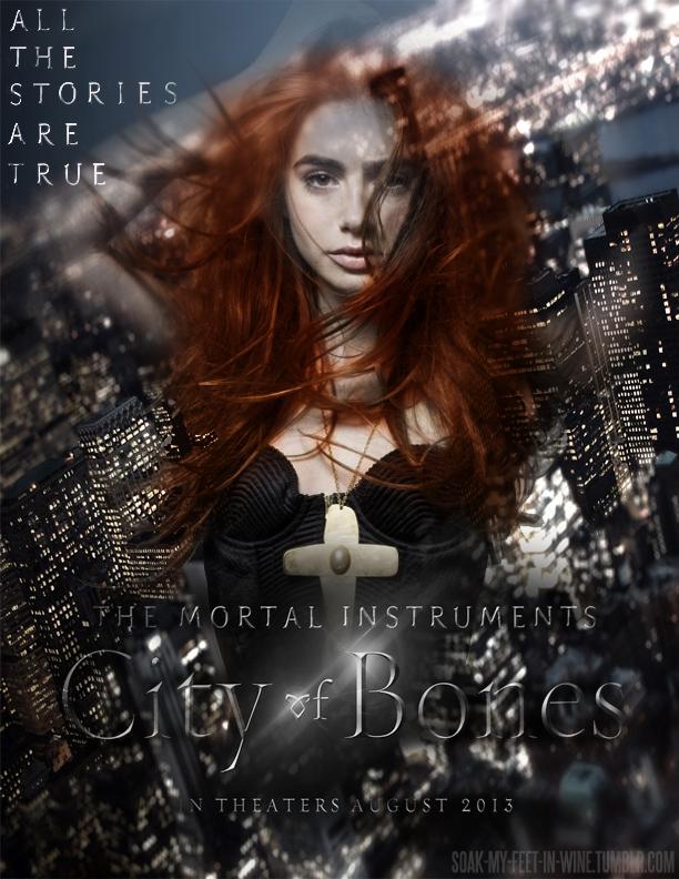 #15: Clary Fray: City of Bones by fragileGLITTER on DeviantArt