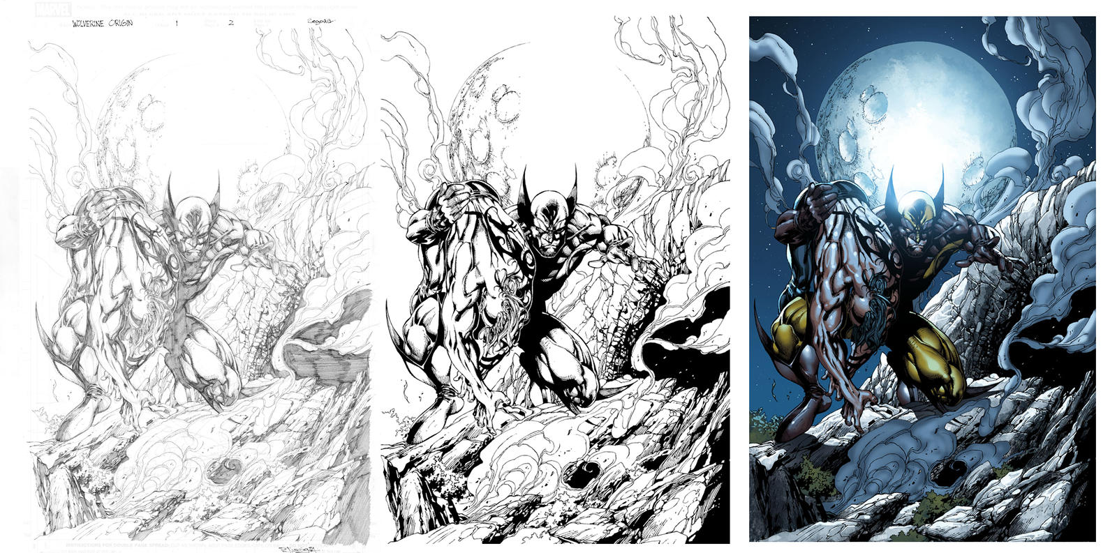 Wolverine Origin by sjsegovia