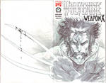 Wolverine 100 sketch cover