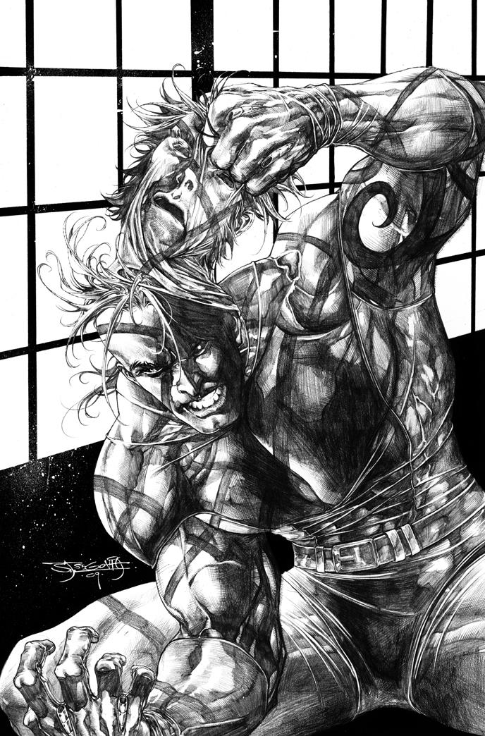 Dark Wolverine 85 by sjsegovia