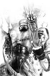 Robocop cover 2 by sjsegovia