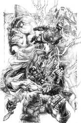 Iron man Thor 2 by sjsegovia