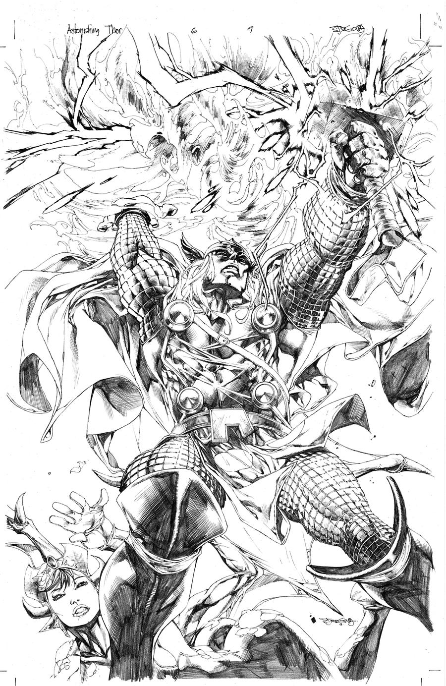 Thor Deviant Saga issue1 by sjsegovia