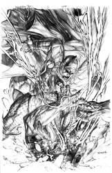 Thor Deviant Saga No.3 cover by sjsegovia