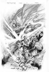 Thor Deviant Saga No.4 cover by sjsegovia