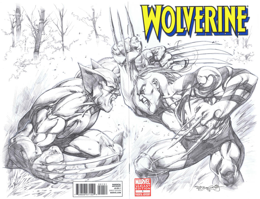 Wolverine vs Daken by sjsegovia