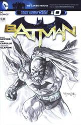 Batman sketch cover by sjsegovia