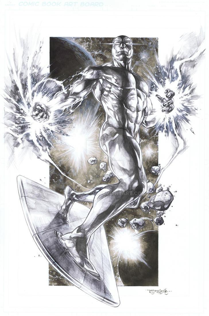 Silversurfer by sjsegovia