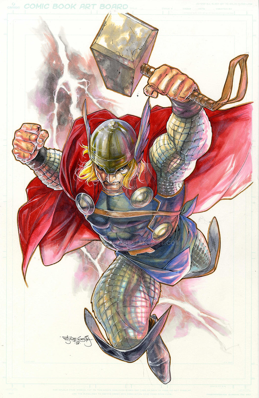 Thor copics by sjsegovia
