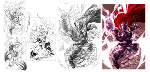 Step by Step Thor Deviant saga