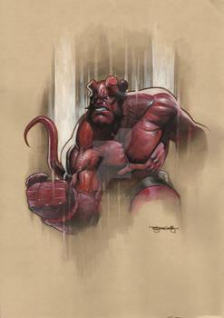 Hellboy Copic