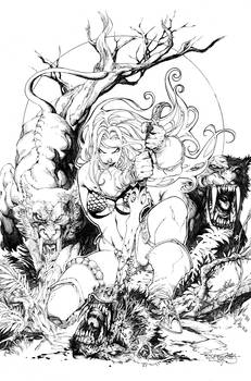 Red sonja cover issue 24