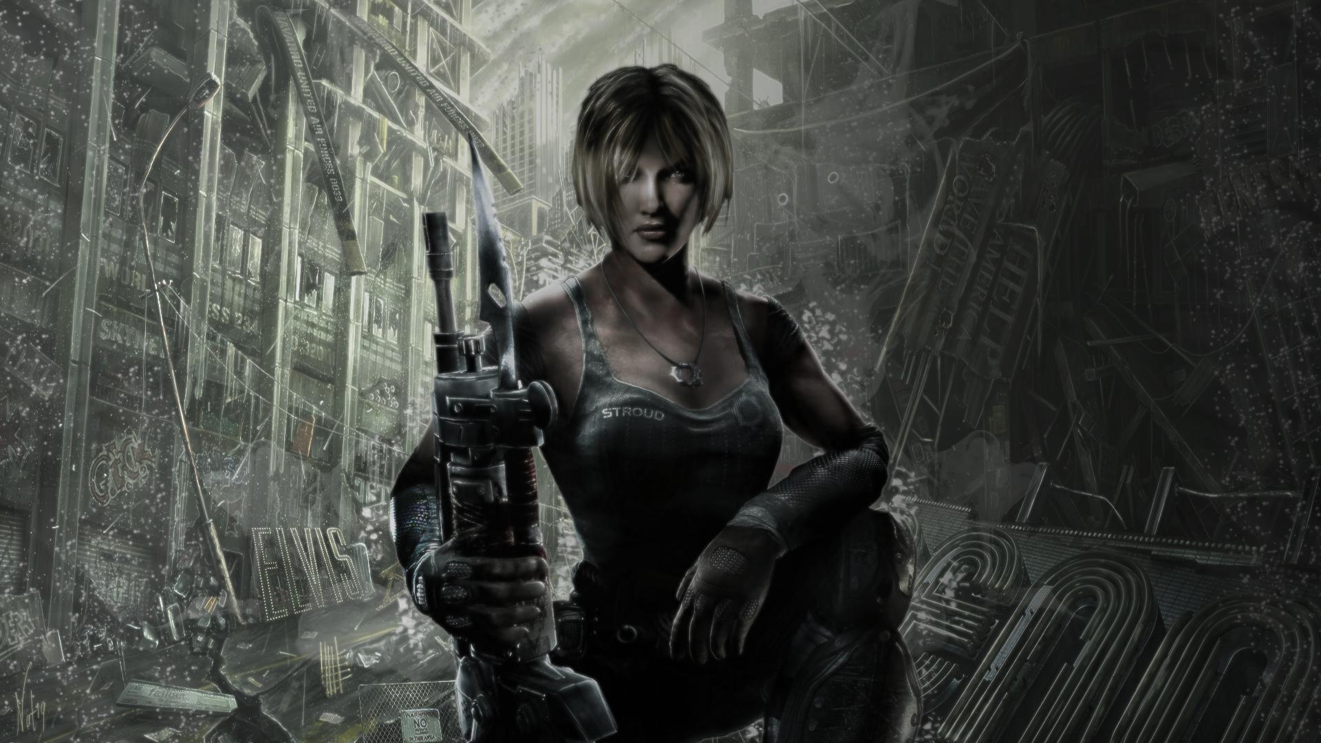 Gears Of War 3: Anya Wallpaper By Robbiebelike On DeviantArt