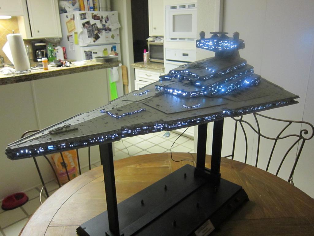 Exhibition Light D Model : Star wars destroyer studio scale kit by hansbeutick