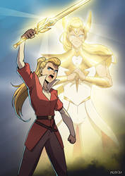 #SheRaMovie (She-ra and the Princesses of Power)