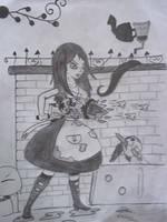 Alice e o moedor de pimenta by ushirin