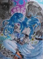 +- Beauty Ebereth in Lorien -+ by ushirin