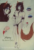 +Johnny Ref.Sheet Summer 2014+ by ushirin