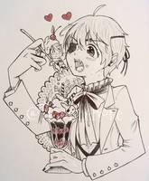 +Ciel eating Alois+ by ushirin