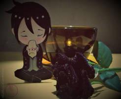 +A Sebastian and a Coffee+ by ushirin